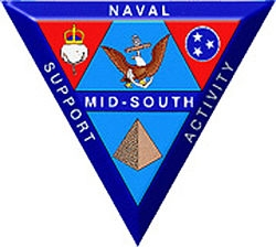 Naval Support Activity Mid South logo