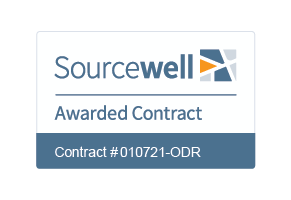 Sourcewell Awarded Contract logo #010721-ODR