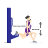 Bulgarian Split Squat Illustration