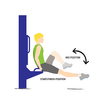 Seated Crunches Illustration